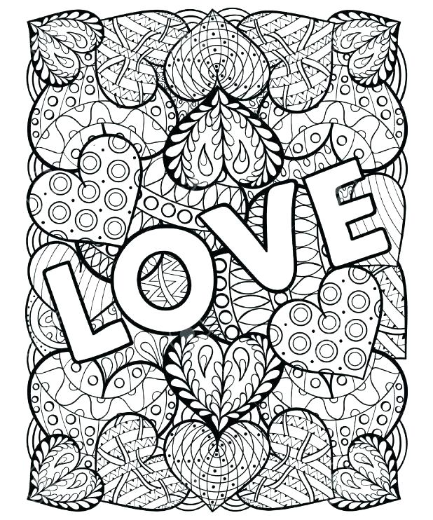 618x742 Valentine I Love You Coloring Pages Batch Coloring Valentine I