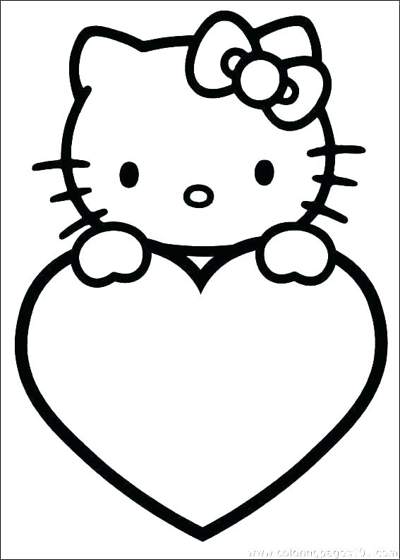 567x794 Valentine Day Printable Coloring Pages Cute Valentines Day