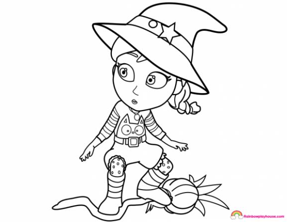 Free Vampirina Coloring Pages at GetDrawings | Free download