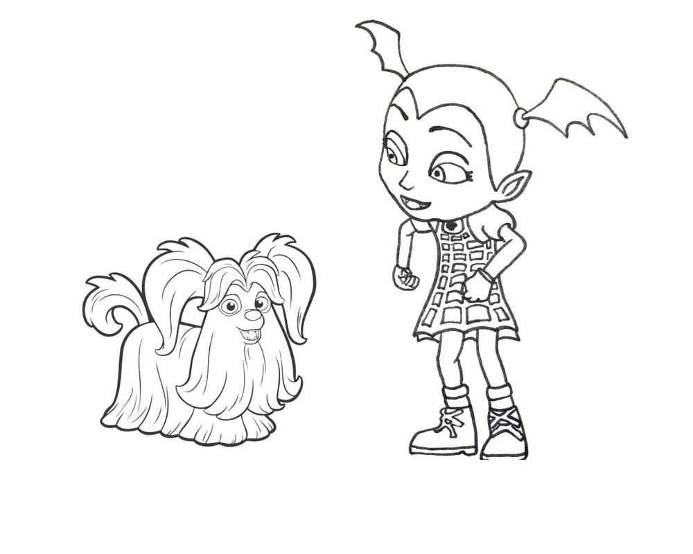 Free vampirina coloring pages at getdrawings com free for personal