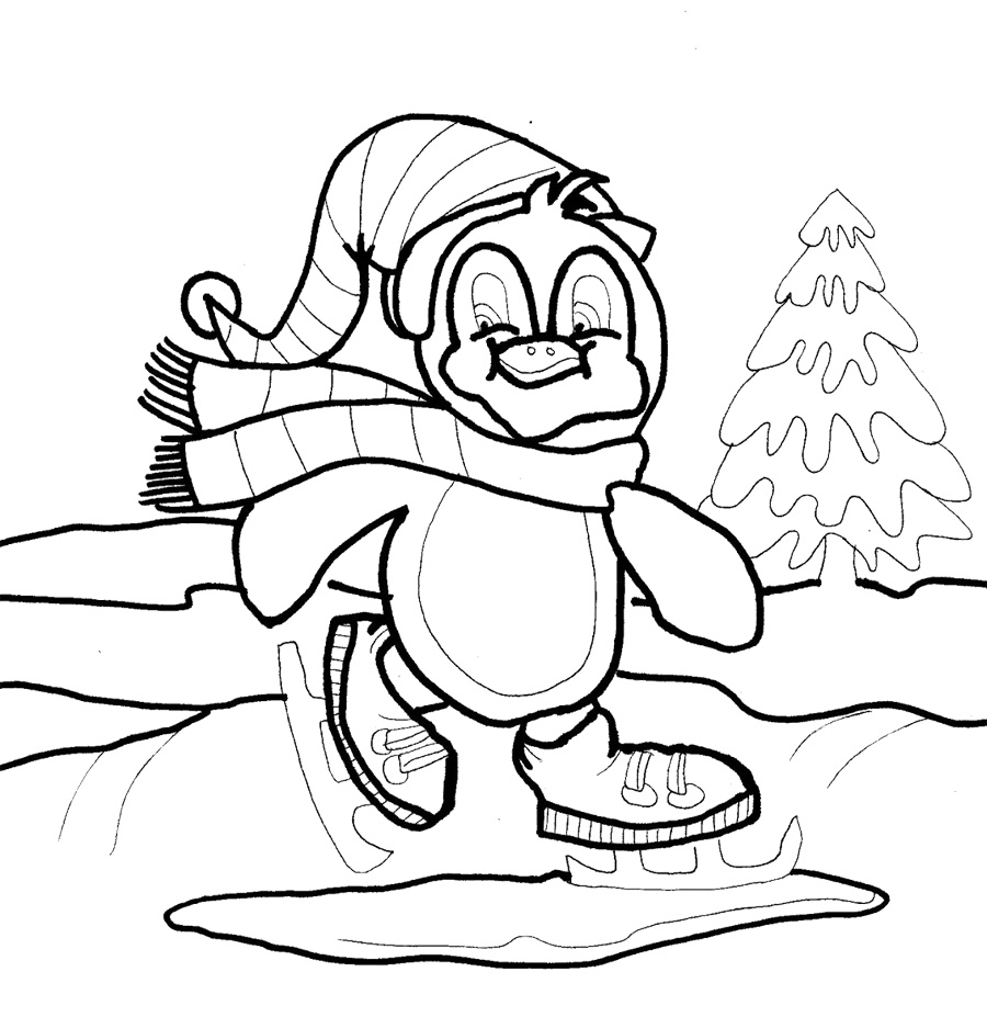 Free Winter Coloring Pages At Getdrawings Com Free For Personal