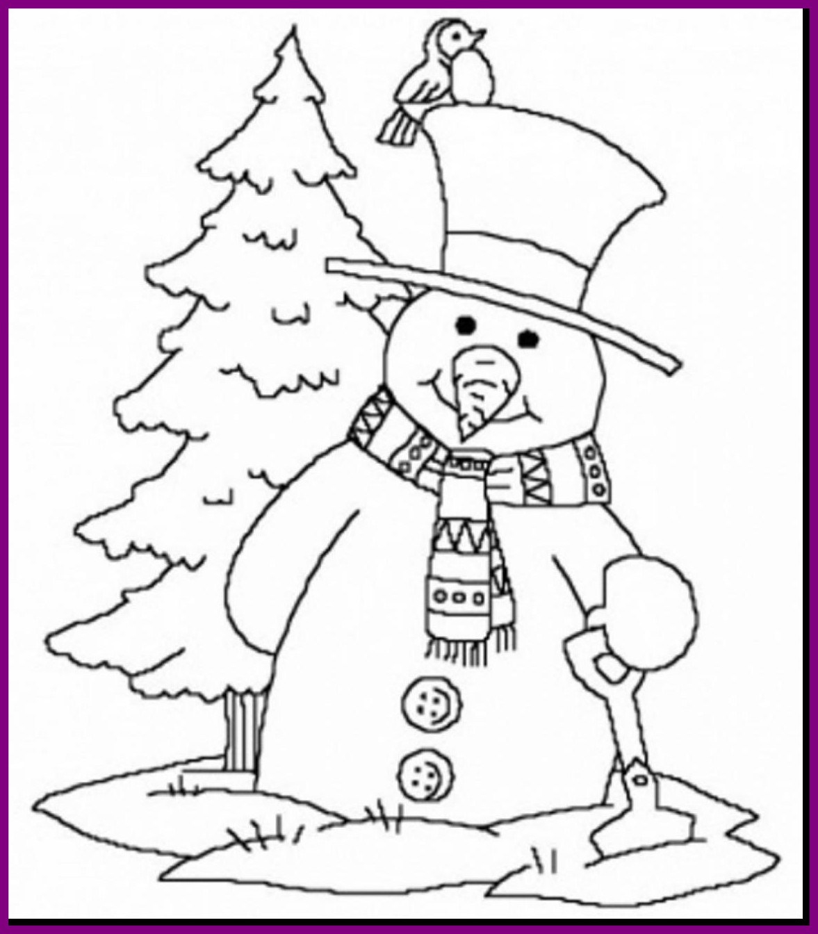 Free Winter Coloring Pages For Kindergarten at GetDrawings ...