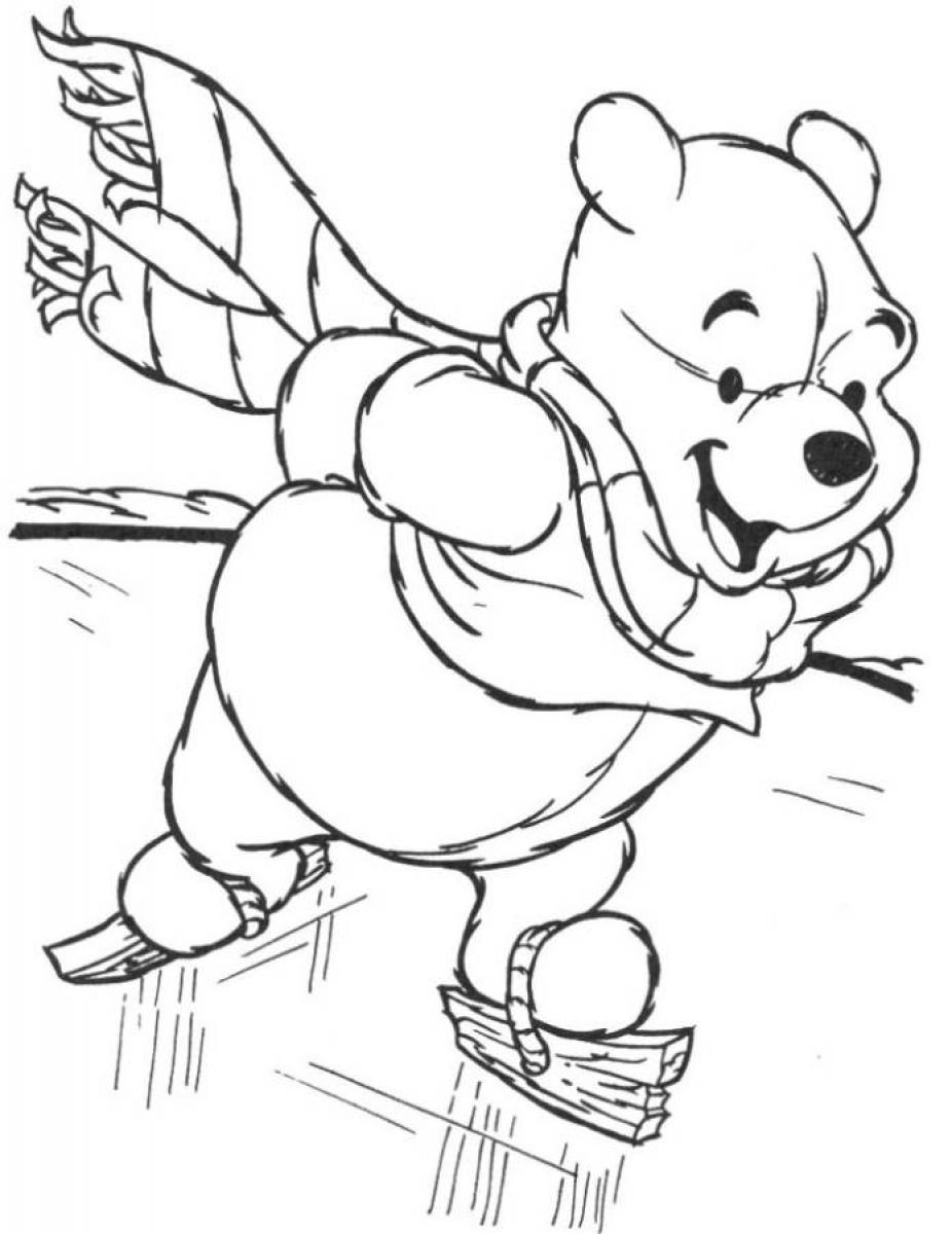 Free Winter Coloring Pages For Kindergarten At Getdrawings Com