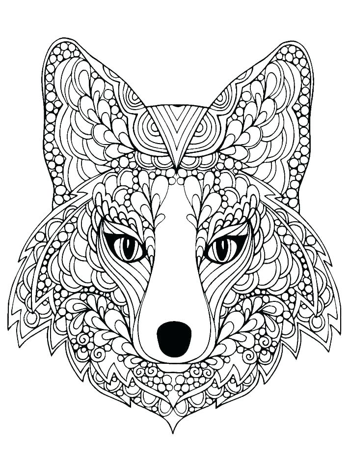 Free Wolf Coloring Pages At GetDrawings Free Download