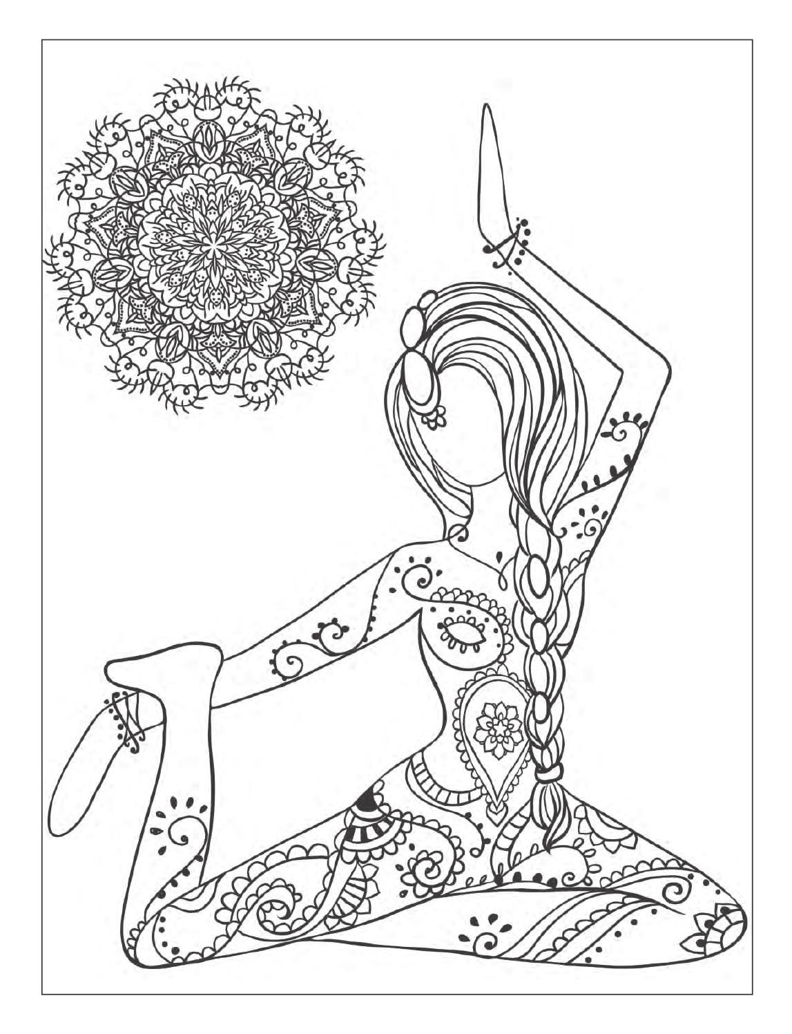 1147x1496 Complete Abc Yoga Coloring Pages Just Arrived Free Namaste Om Page