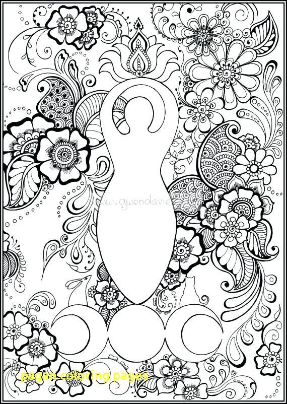 570x802 Pagan Coloring Pages Pagan Coloring Book Pagan Coloring Pages