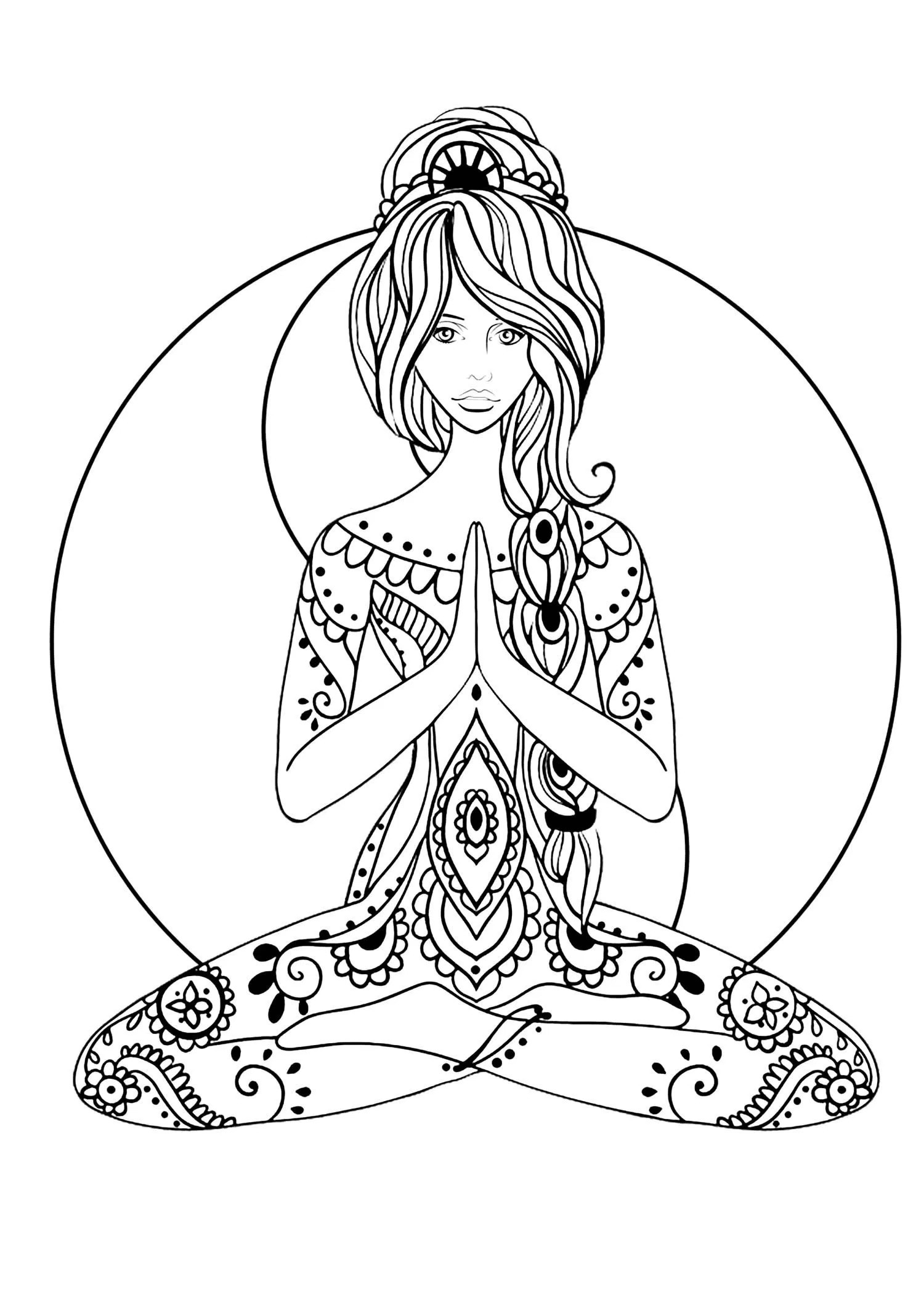 1500x2137 Yoga Coloring Pages To Print Copy Fresh Kids This Is A Free