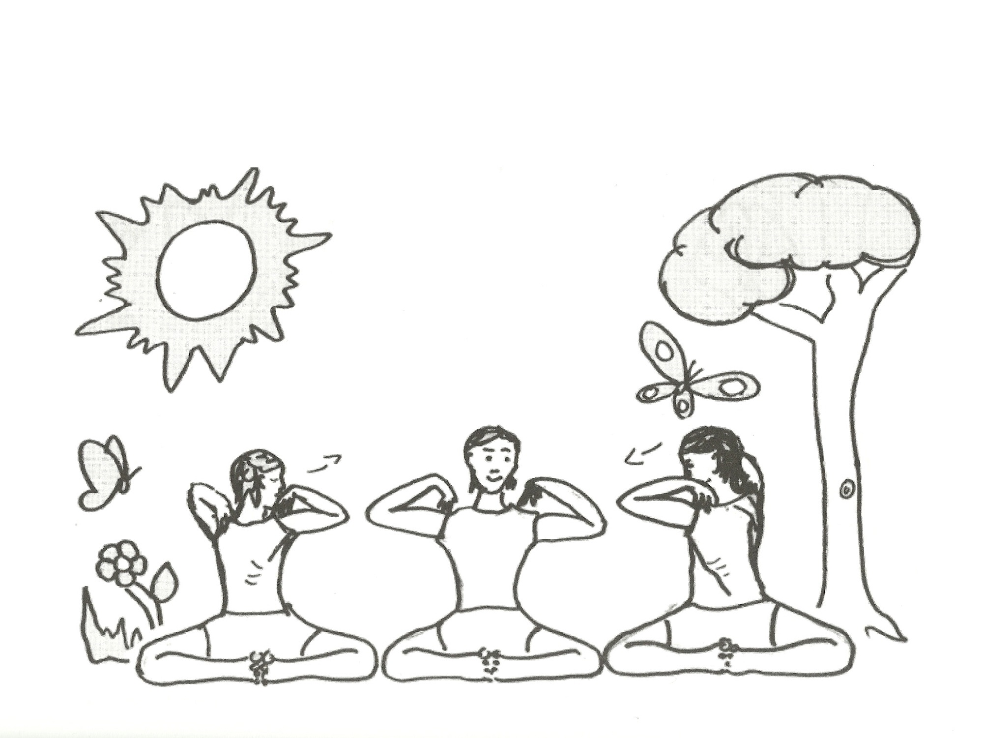 2000x1501 Yoga Coloring Pages For Kids Free Loving Printable