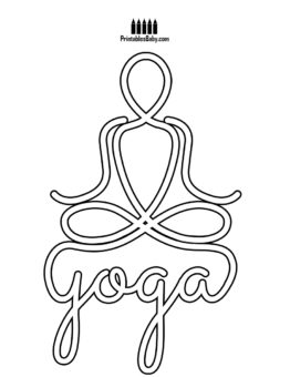 262x340 Yoga Day Coloring Pages Archives