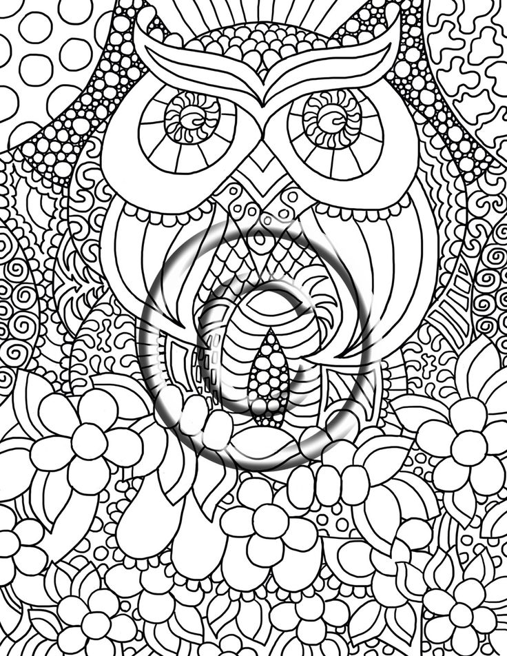 736x952 Best Images About Abstrato On Owl, Henna And Coloring