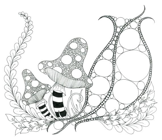 570x491 Zendoodle Coloring Pages Printable Coloring Page