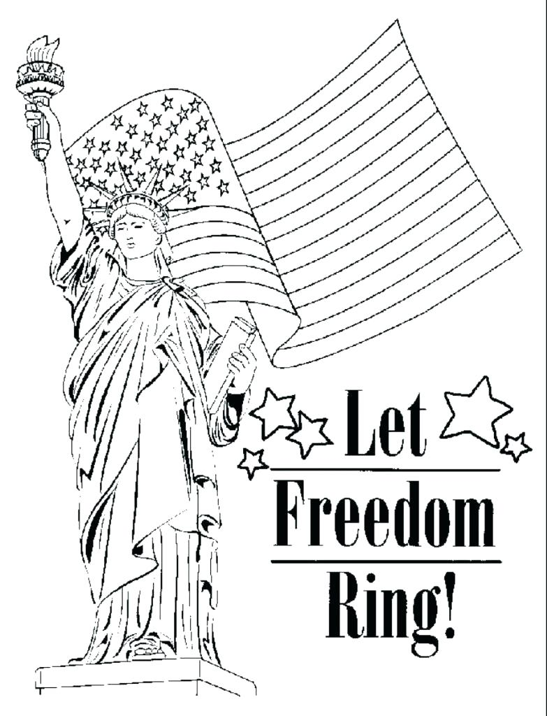 Freedom Coloring Pages at GetDrawings