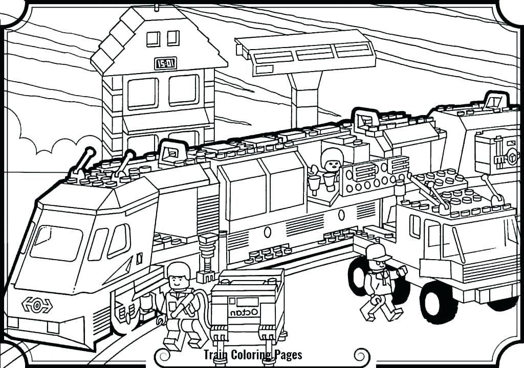 1024x720 Freight Train Coloring Pages Freight Train Coloring Pages Train