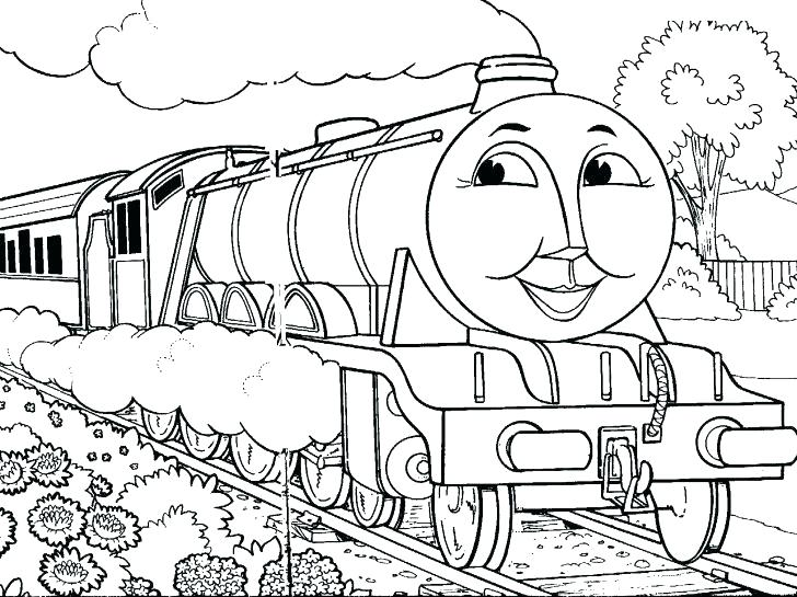 728x545 Freight Train Coloring Pages Steam Train Coloring Pages Medium