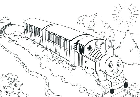 580x400 Freight Train Coloring Pages Train Coloring Pages For Kids