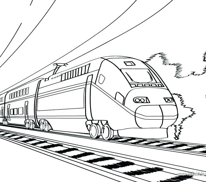 678x600 Train Coloring Pages Freight Train Coloring Pages Train Coloring