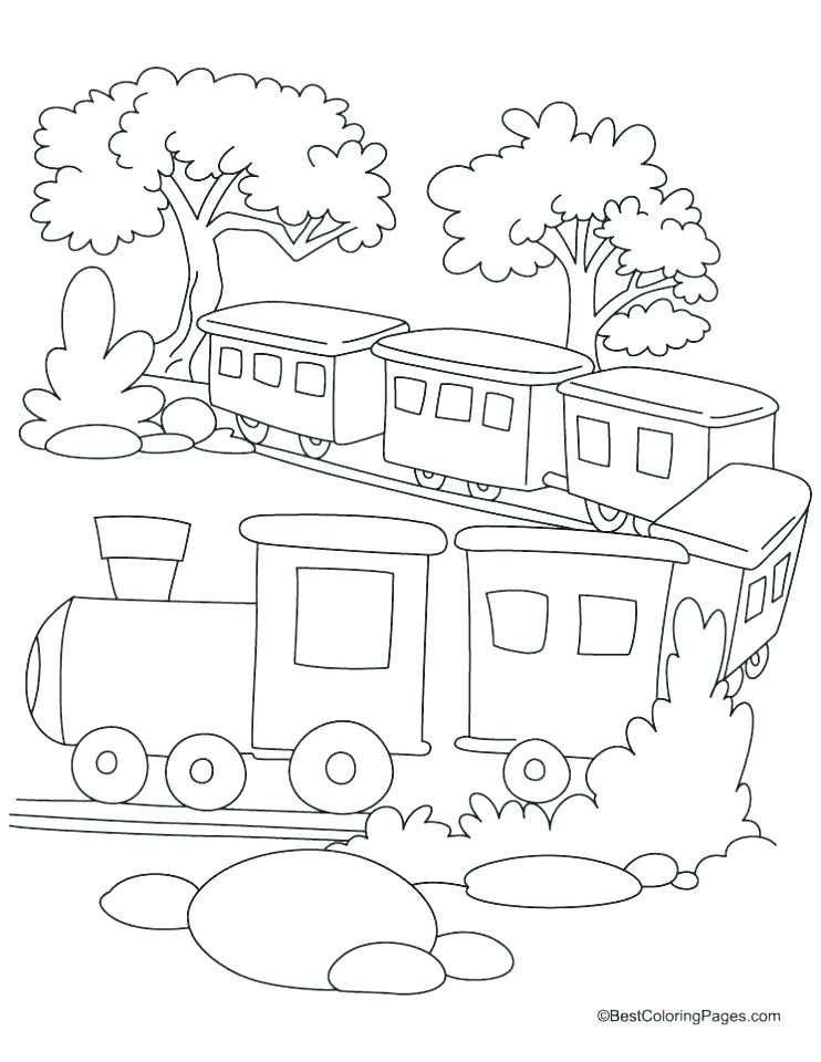 742x960 Train Coloring Pages Printable Freight Train Coloring Pages Train