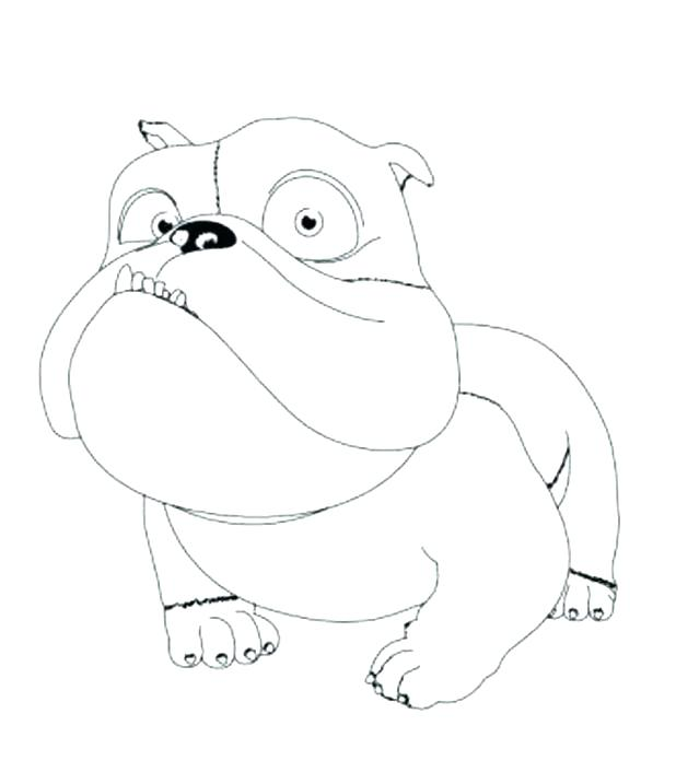 618x706 French Bulldog Coloring Pages Bulldog Coloring Pages For Kids