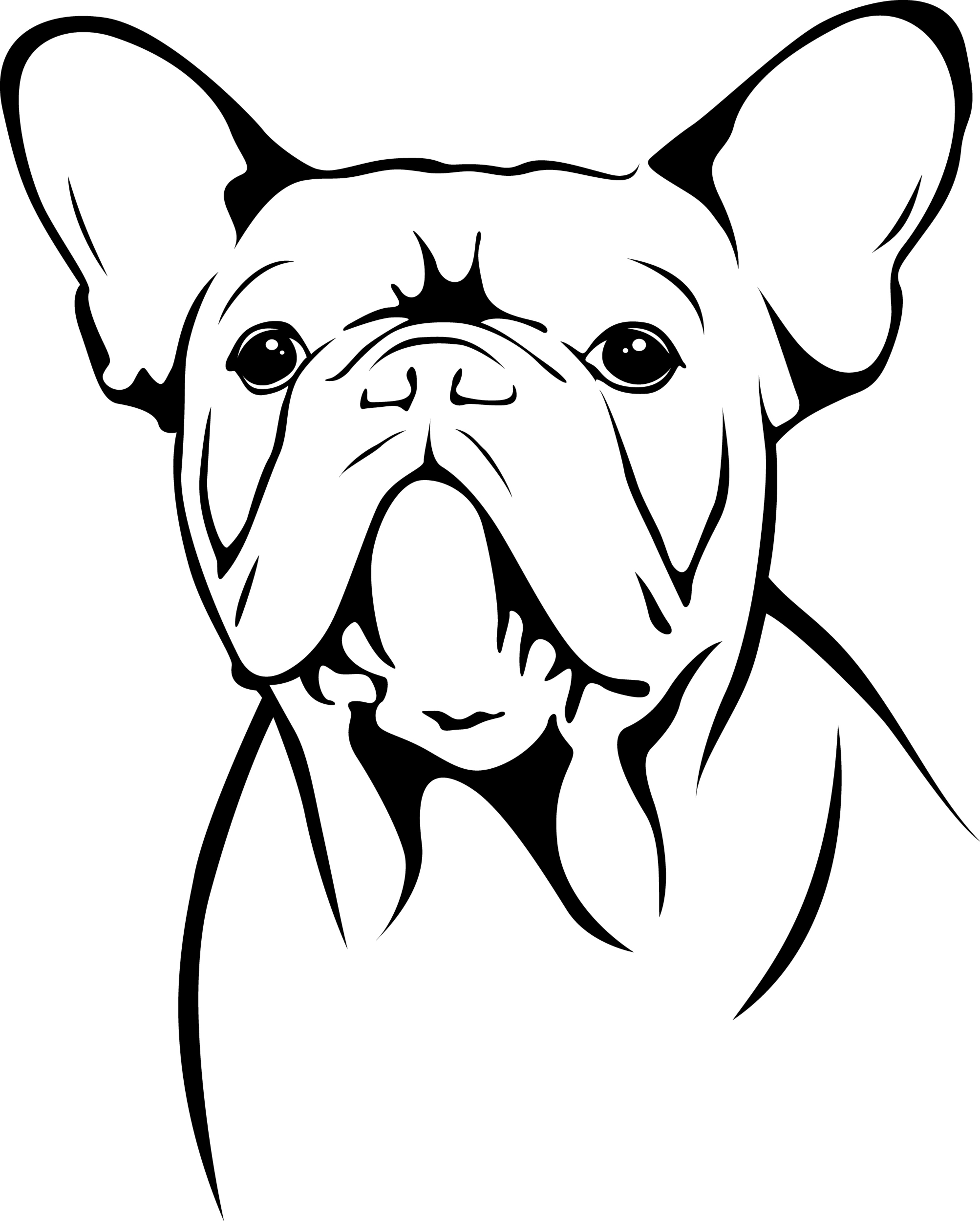 3469x4324 Unique Bulldog Coloring Page Gallery Printable Coloring Sheet