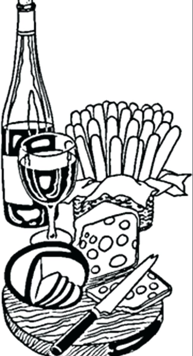 650x1200 France Coloring Page Cartoon Mouse With Cheese Coloring Page Free