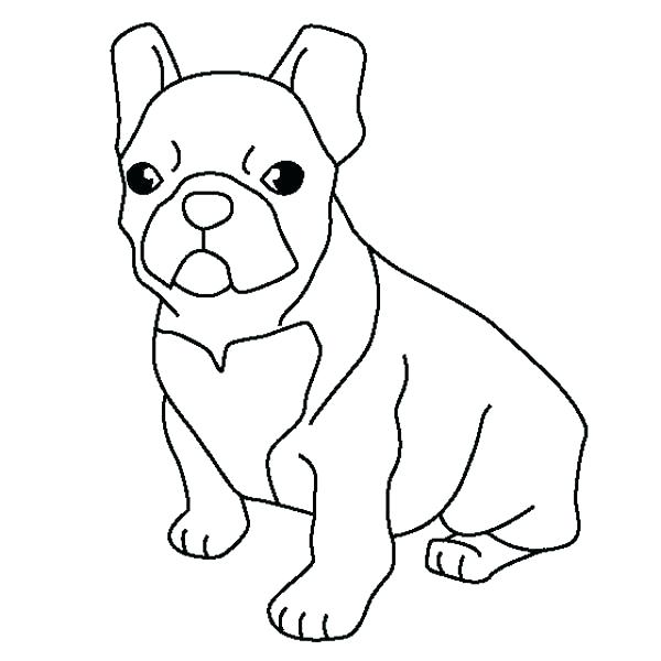600x600 Bulldog Coloring Page French Bulldog Coloring Pages French Bulldog