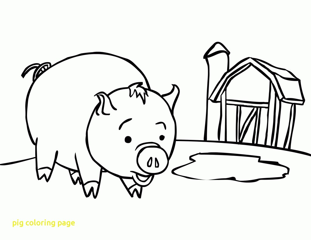 1024x791 Ds Pig Coloring Page Create Printout Or Activity Index Php Id