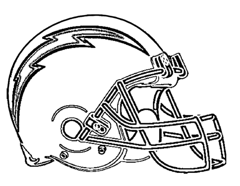 800x620 Football San Diego Chargers Coloring Page Kids Coloring Pages