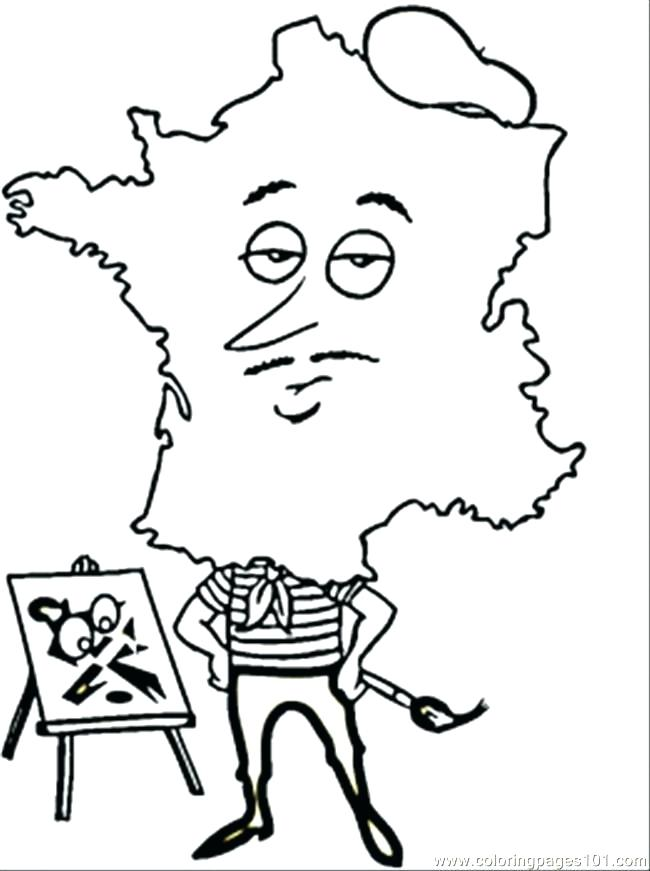 650x871 French Coloring Pages