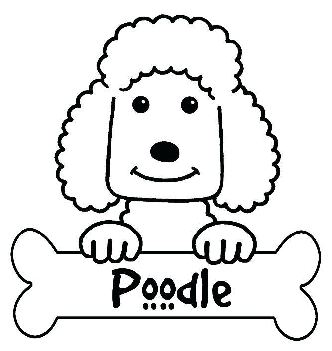 667x705 Poodle Coloring Poodle Colouring Pages Standard Poodle Coloring