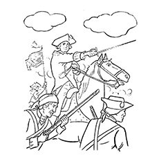 230x230 Best George Washington Coloring Pages For Toddlers