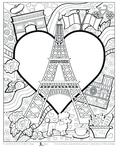 410x512 French Coloring Pages French Fries Coloring Page French Fries