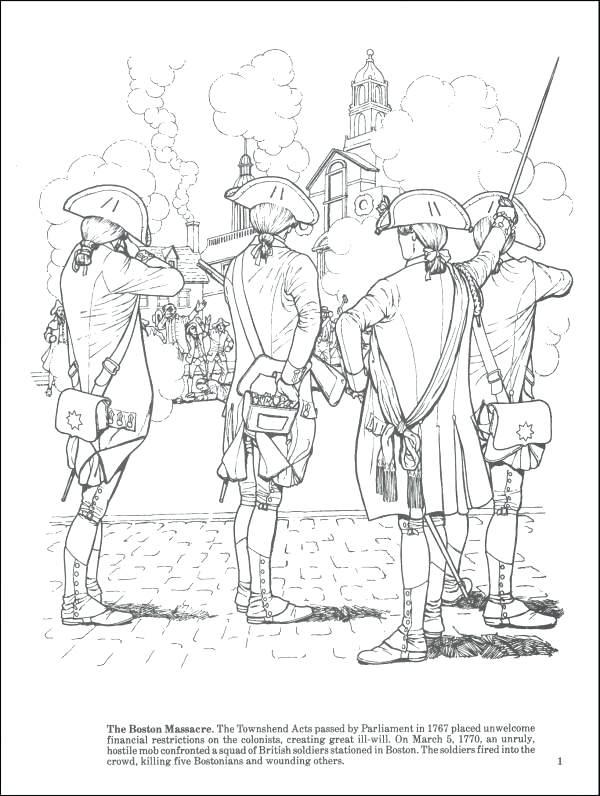 600x796 American Revolution Coloring Pages Story Of The Revolution
