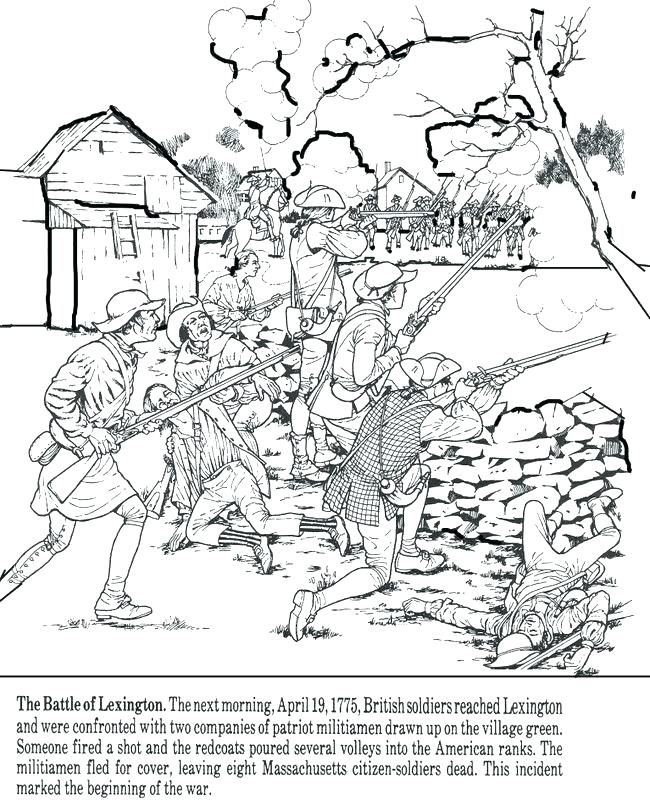 650x800 Revolutionary War Coloring Pages Revolution Coloring Pages Free