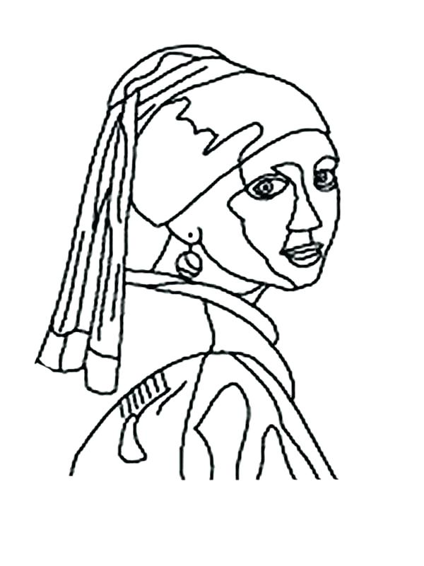 600x801 Frida Kahlo Coloring Pages Coloring Pages View Larger Color Pages