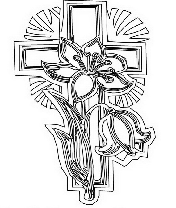 570x675 Good Coloring Pages Good Friday Coloring Pages And Pintables