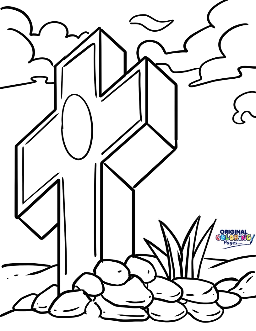 815x1056 Good Friday Coloring Page Coloring Pages Original Coloring Pages