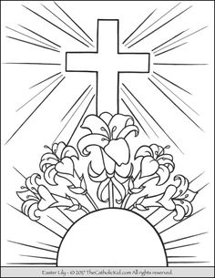 236x305 Good Friday Coloring Pages And Pintables For Kids Easter, Sunday