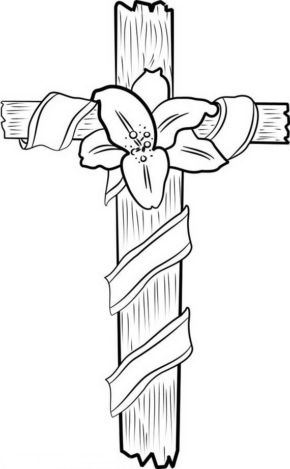 570x922 Good Friday Coloring Pages And Pintables For Kids Good Friday