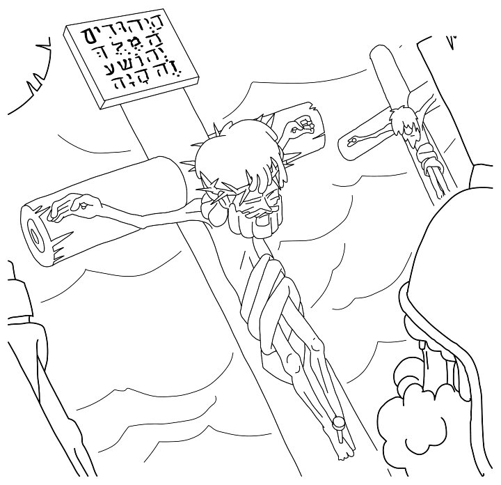 720x696 Jesus Dies On The Coloring Page For Good Friday Coloring