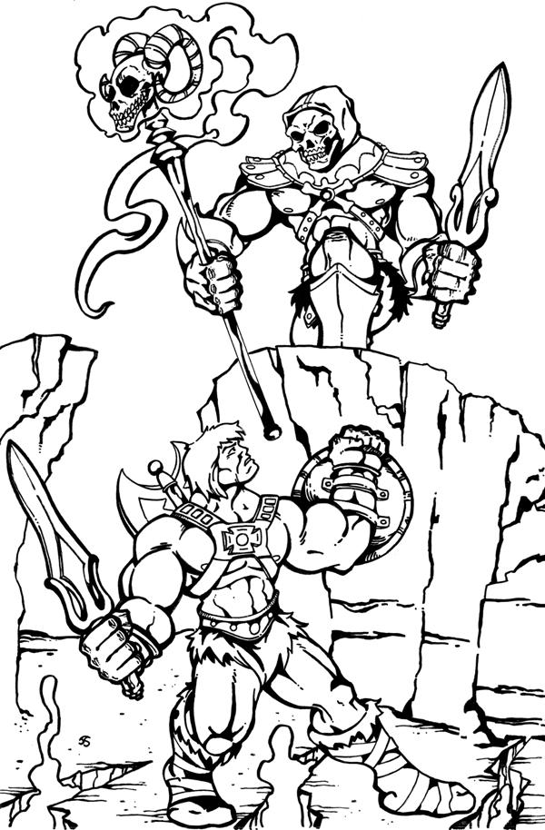 600x914 He Man Coloring Pages Gallery Of Jesus Heals Coloring Page