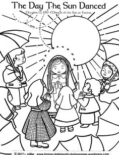236x307 Our Lady Of The Rosary Coloring Page Free Printable And Catholic