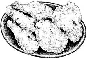 300x202 Fried Chicken, Fried Chicken On One Plate Coloring Pages, Fried