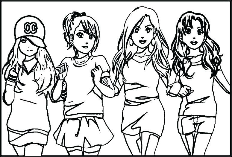 775x525 Friendship Coloring Pages Best Friends Coloring Pages Best Friends