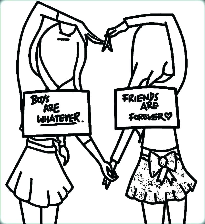 840x915 Friendship Coloring Pages Friendship Coloring Pages Amazing