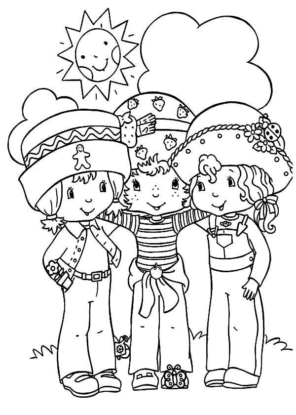 preschool coloring pages friends | Friends Coloring Pages For Preschoolers at GetDrawings.com ...