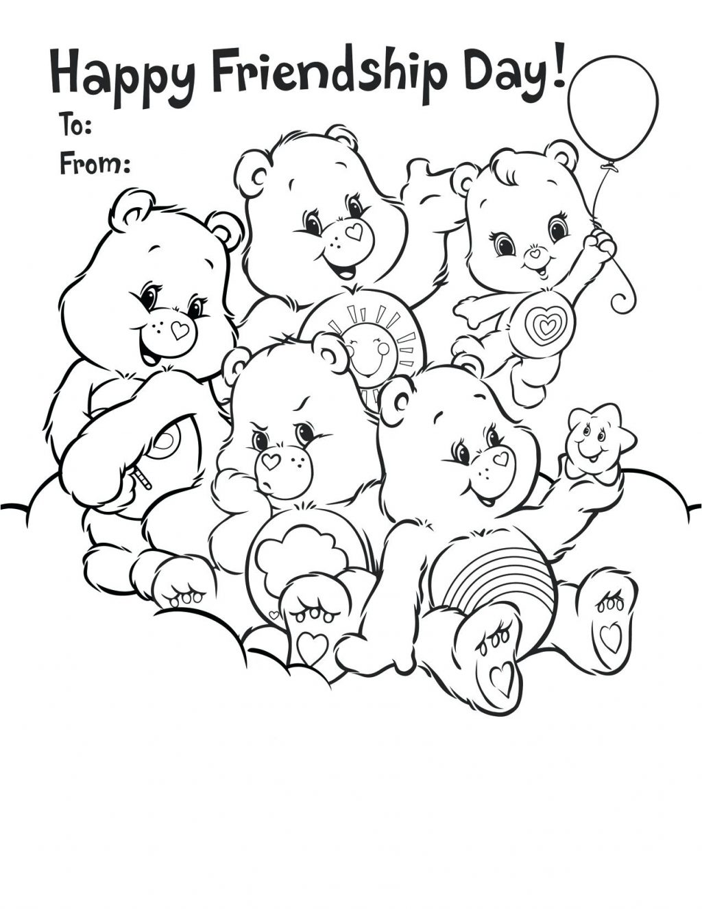 1024x1325 Coloring Pages Friendship Coloring Pages For Preschoolers