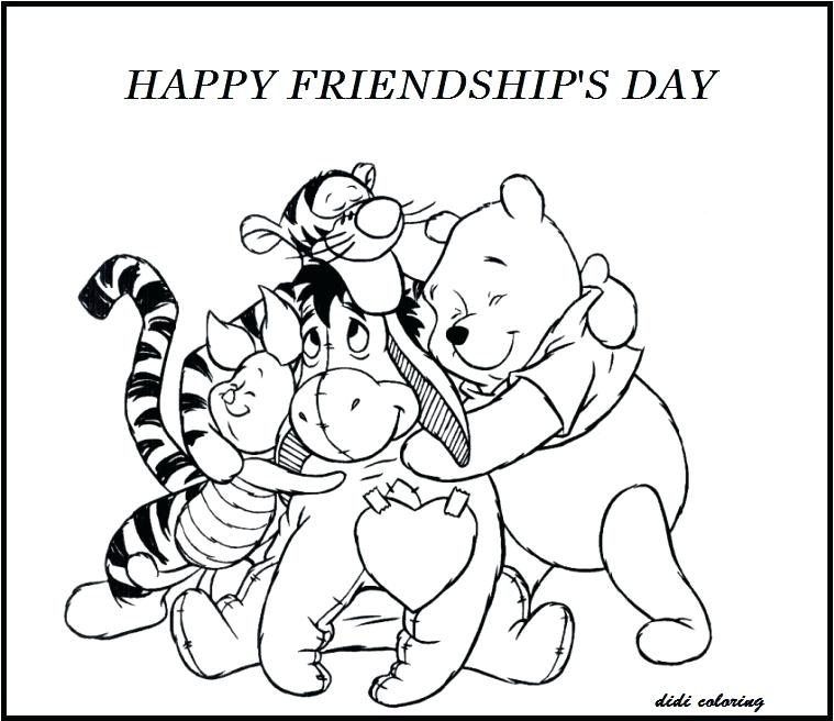 759x656 Best Friends Colouring Pages Coloring Pages Online Best Friends