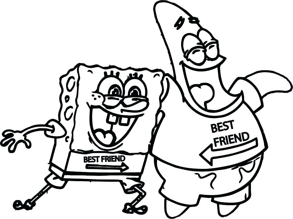 1024x764 Friend Coloring Page