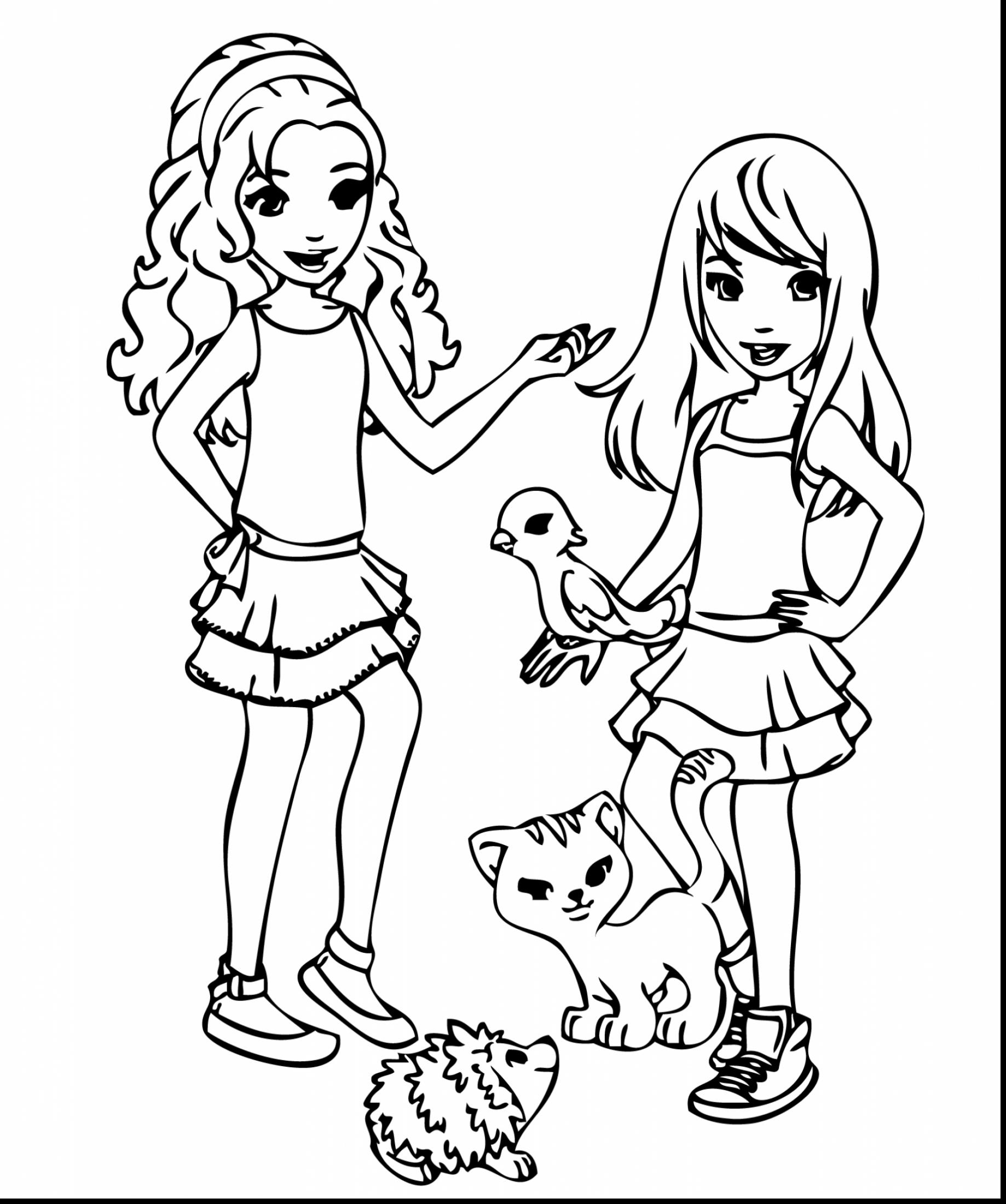 1838x2200 Printable Lego Friends Coloring Pages Printable Free Free