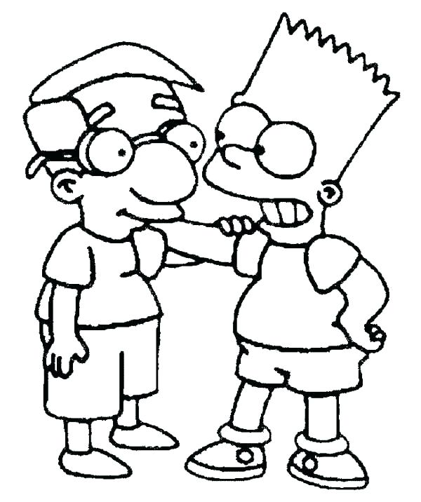 600x716 Spongebob And Friends Coloring Pages Free Friendship Coloring